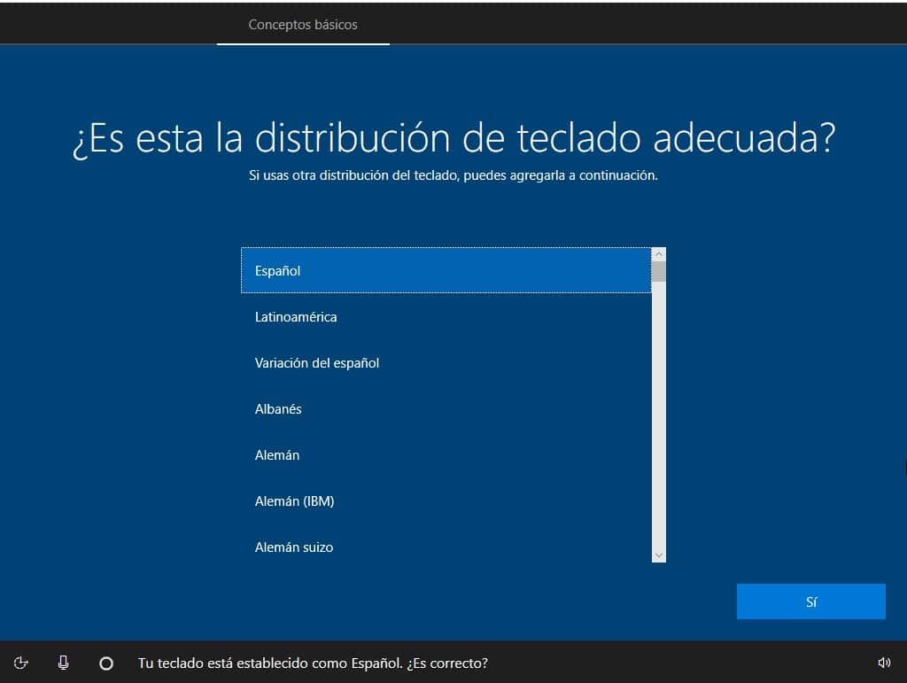 instalacion de windows 10