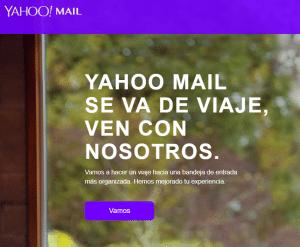 correo temporal con yahoo mail