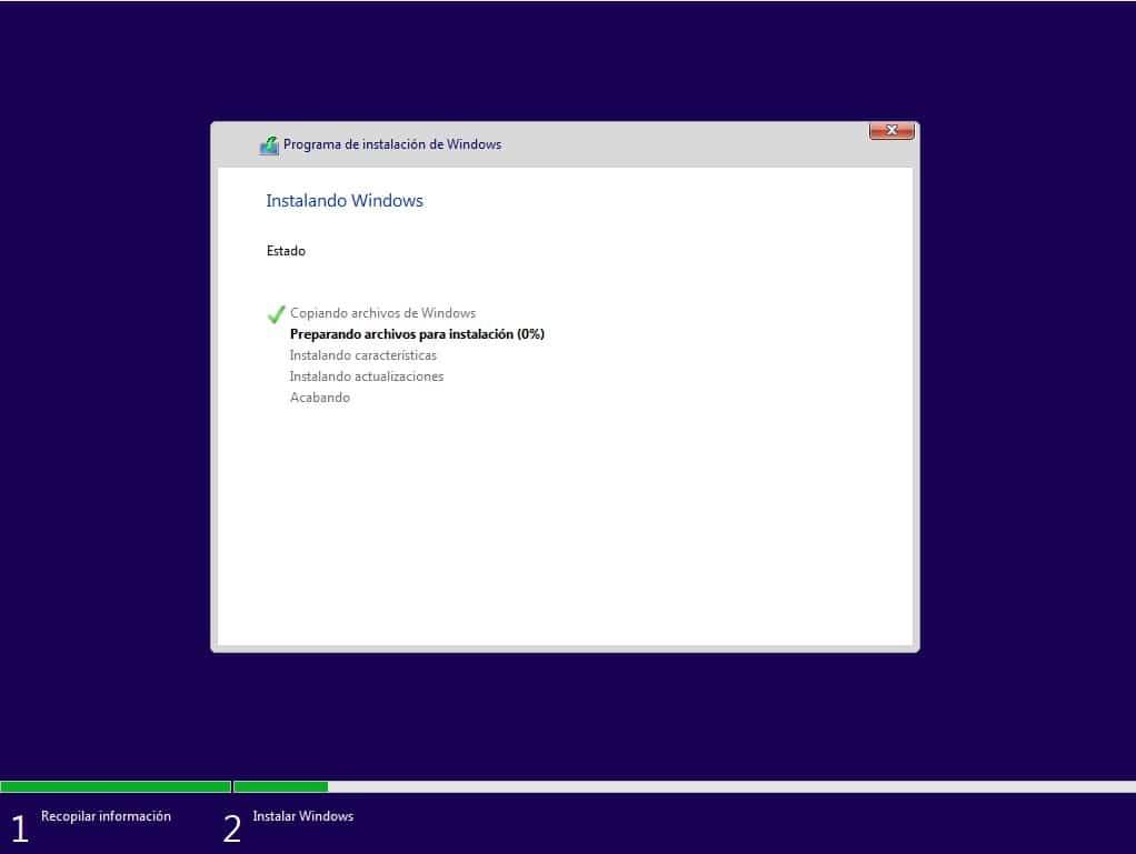 instalar otro sistema operativo en windows 10