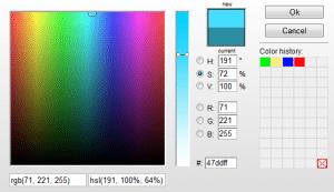 extensión de chrome colorzilla