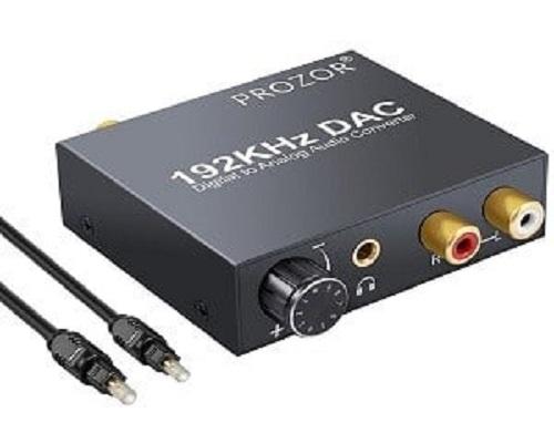 Prozor 192KHz DAC Convertidor Digital SPDIF