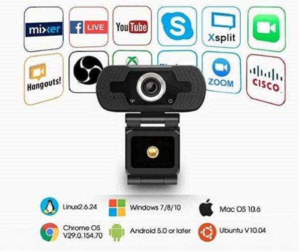 Webcam Anivia W8 Full HD