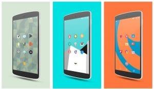 iconos de android