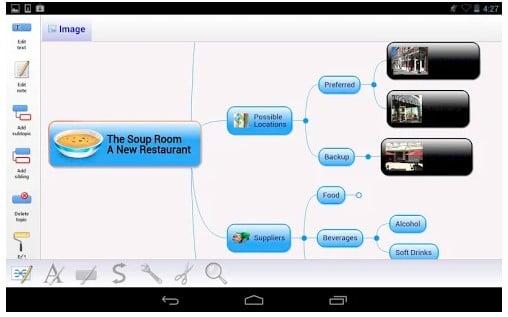 app para hacer mapas conceptuales
