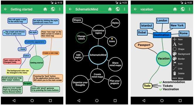 aplicaciones para mapas conceptuales