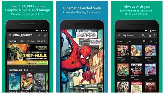 aplicacion para leer comics