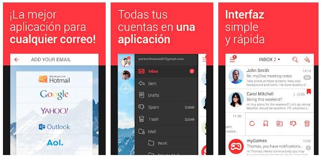 app correo android