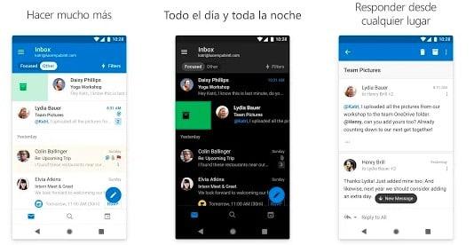 apps de correo electronico para dispositivos moviles