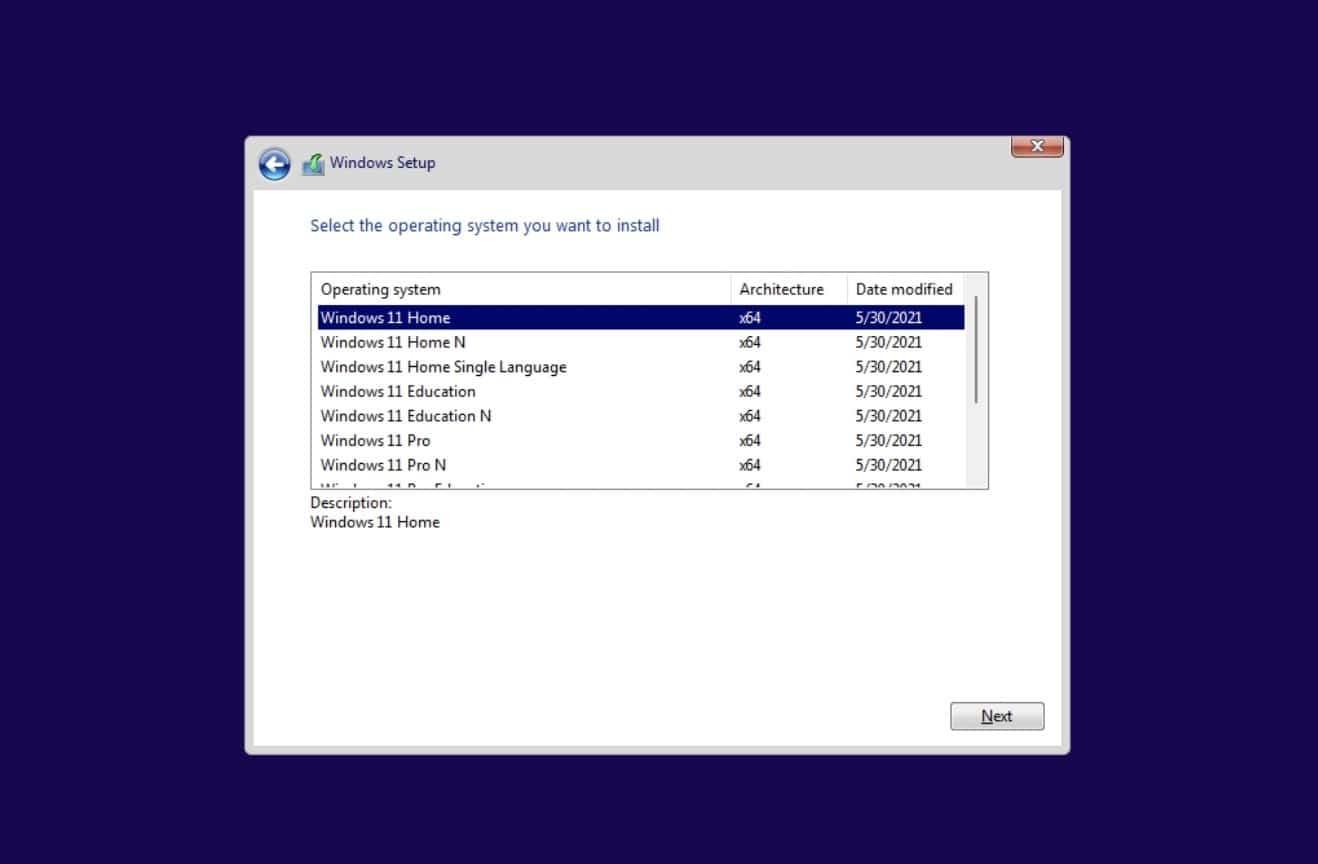 Instalar windows 11 pro