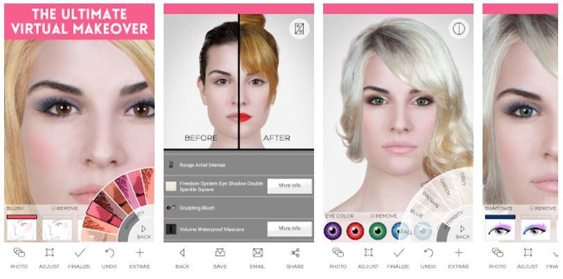 apps de maquillaje para fotos