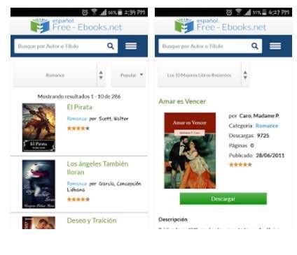 aplicación para descargar libros gratis